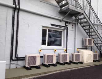 ventilation units outside