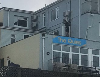 the Quies building