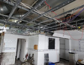 fish and chip shop ventilation system installation